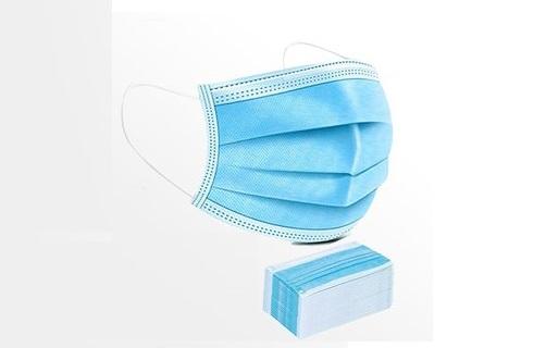 mund nasen bedeckung blau